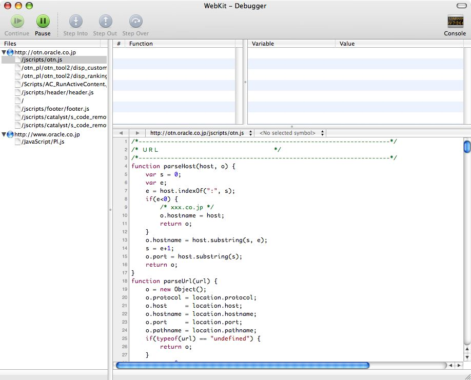 Drosea_debugger_window2